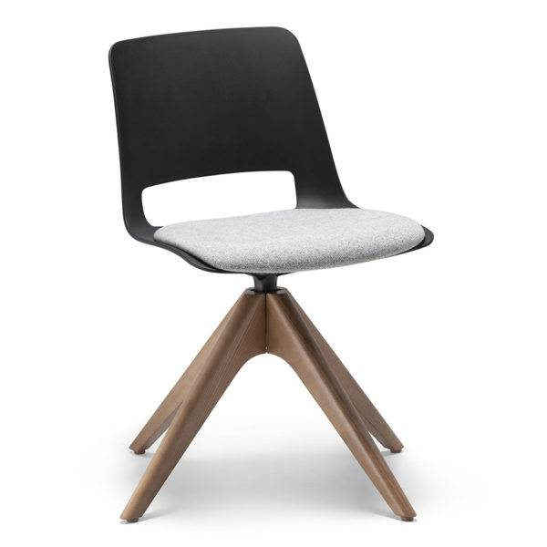 Unica Timber Swivel Visitor & Meeting