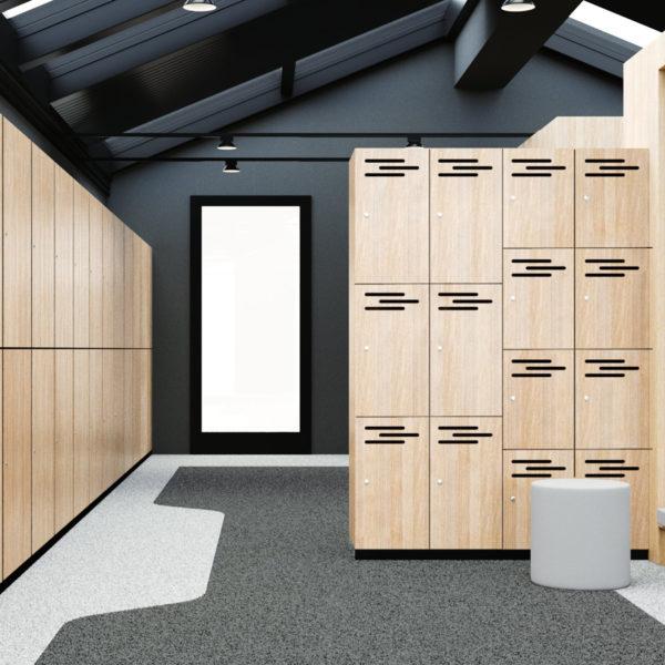 Laminate Lockers Lockers