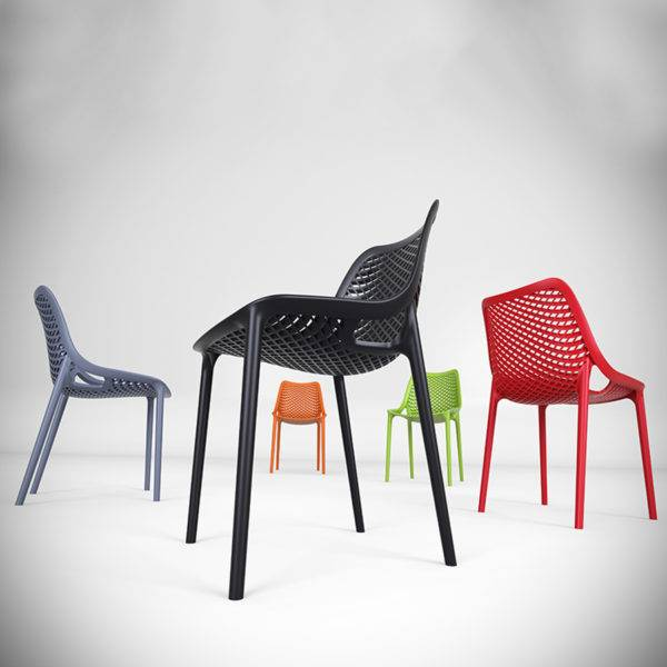 Air Stackable Chair Work Cafe & Breakout