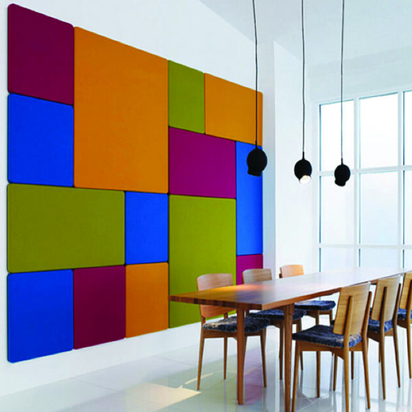 Smooth Velour Pinboards Screens